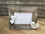 Shabby personalised Chic Photo Frame Auntie Aunty Great Aunt Gift  Present - 253402766920